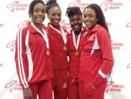 Pickering's Speed Academy sets Canadian junior 4x400m record