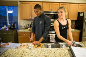 It's all about the journey for Ashton Eaton and Brianne Theisen-Eaton, the planet's most athletic couple
