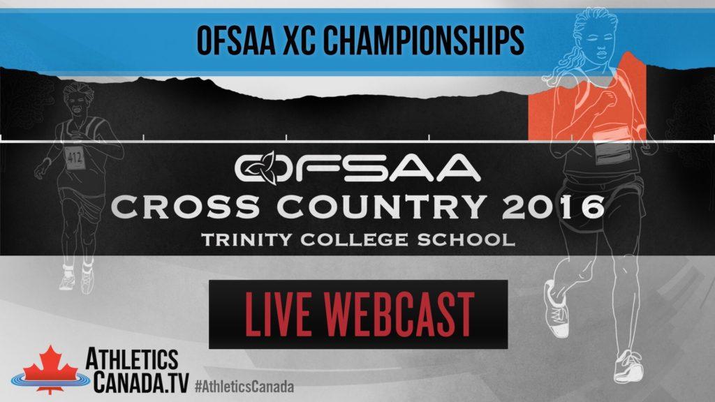 Watch OFSAA XC on AthleticsCanada tv | Athletics Canada