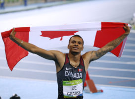 YOUNG GUNS: DE GRASSE READY TO CHALLENGE BOLT FOR WORLD GLORY