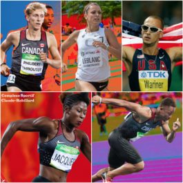 Olympic athletes available to media ahead of Grand Prix d'Athlétisme de Montréal