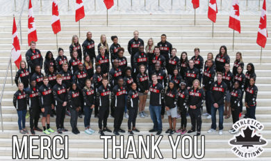Athletics Canada and its athletes applaud increased support for sport
