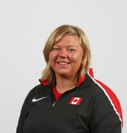Brittany Crew sets Canadian shot put record twice in 48 hours