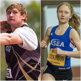 Mark Bujnowski and Laura Dickinson winners of inaugural Athletics Canada Foundation scholarships