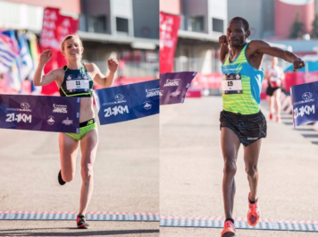 Hannah, Kangogo take Half Marathon titles in Calgary