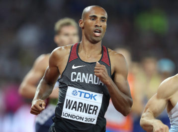 Damian Warner 5th in decathlon; Ahmed makes history in 5000m, while men's relay team finish 6th