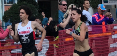 Seccafien, Levins secure 2017 Canadian 5k Road Race titles