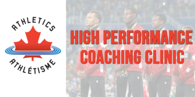 Athletics Canada's East Hub to host final High Performance Coaching Clinic ahead of 2018 outdoor season