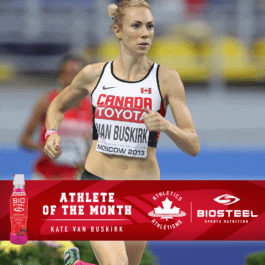 Kate Van Buskirk named Athletics Canada / BioSteel Athlete of the Month