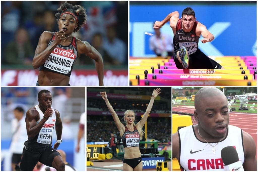 meet the canadian athletes of year