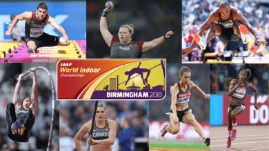 Athletics Canada names 2018 IAAF World Indoor Championships team