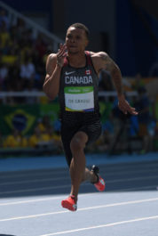 Andre De Grasse withdraws from Commonwealth Games