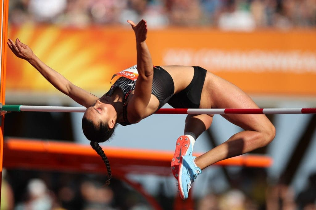 Treasure Fourth In Women S High Jump Final Gc2018 Comes To An End Tomorrow In Gold Coast Athletics Canada