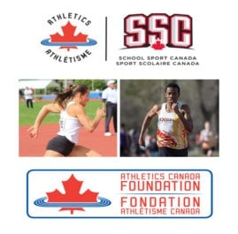 Erika Binder and Vaughn Taylor named 2018 Athletics Canada Foundation scholarship recipients