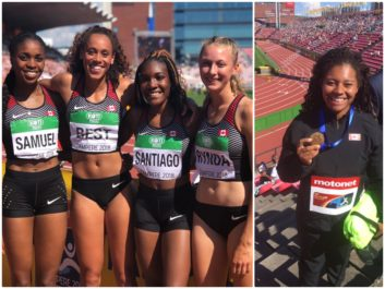 Gold for Rogers at IAAF World U20 Championships