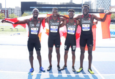 Relay teams reach the podium, Canada finishes NACAC Championships with 21 medals