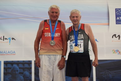 Canada's medal count at World Masters Championships up to 21